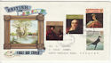 1973-07-04 British Painters Stamps Devon FDC (65252)
