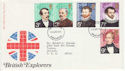1973-04-18 British Explorers Stamps Manchester FDC (65257)