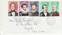 1973-04-18 British Explorers Stamps Used 12/5/73 (65261)