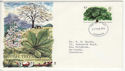 1974-02-27 British Trees Stamp Liverpool FDC (65311)