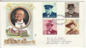 1974-10-09 Churchill Stamps Liverpool FDC (65321)