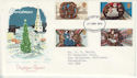 1974-11-27 Christmas Stamps Liverpool FDC (65322)