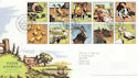 2005-01-11 Farm Animals T/House FDC (65345)