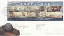 2005-10-18 Trafalgar Stamps M/S T/House FDC (65348)
