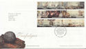 2005-10-18 Trafalgar Stamps T/House FDC (65349)