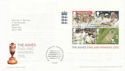2005-10-06 Cricket The Ashes M/S T/House FDC (65350)