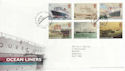 2004-04-13 Ocean Liners Stamps T/House FDC (65358)