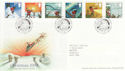 2004-11-02 Christmas Stamps T/House FDC (65368)