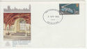 1975-09-03 Parliamentary Conf Stamp Gwent FDC (65402)