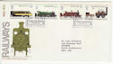1975-08-13 Railways Stamps Darlington FDC (65408)
