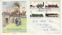 1975-08-13 Railways Stamps Darlington FDC (65409)