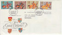 1974-07-30 Medieval Warriors Stamps Hounslow FDC (65421)