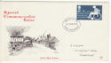 1975-01-22 Charity Stamp Paisley FDC (65424)