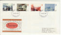 1975-02-19 Turner Paintings Stamps London FDC (65428)