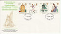1976-08-04 Cultural Traditions Stamps Basildon FDC (65452)