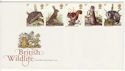 1977-10-05 British Wildlife Stamps No Postmark (65518)