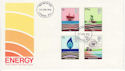 1978-01-25 Energy Stamps London W1 FDC (65566)