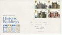 1978-03-01 Historic Buildings Stamps Grantham FDC (65577)