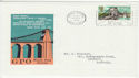 1968-04-29 British Bridges Menai Bridge Slogan FDC (65586)