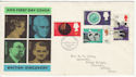 1967-09-19 British Discoveries Stamps Bureau FDC (65588)
