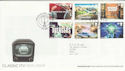 2005-09-15 Classic ITV Stamps London SE19 FDC (65599)