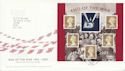 2005-07-05 End of the War M/S Peacehaven FDC (65602)