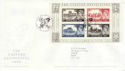 2005-03-22 Castle Definitive M/S Windsor FDC (65608)