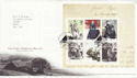2005-02-24 Jane Eyre Stamps M/S Haworth FDC (65611)