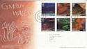 2004-06-15 Wales A British Journey Llanfair FDC (65619)