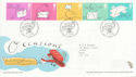 2004-02-03 Occasions Stamps Merry Hill FDC (65628)