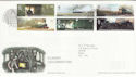 2004-01-13 Classic Locomotives Stamps York FDC (65629)