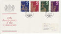 1978-05-31 Coronation Stamps Stoke FDC (65638)