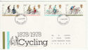 1978-08-02 Cycling Stamps Devon FDC (65651)