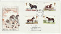 1978-07-05 Horses Stamps Plymouth Devon FDC (65665)