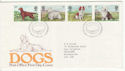 1979-02-07 Dogs Stamps Bureau FDC (65685)