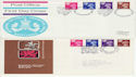 1971-07-07 Regional Definitive Stamps x4 FDC (65699)
