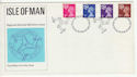 1971-07-07 Isle Of Man Definitive Douglas FDC (65704)