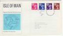 1971-07-07 Isle Of Man Definitive Douglas FDC (65706)