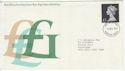 1972-12-06 Definitive Stamp Windsor FDC (65730)