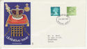 1975-09-24 Definitive Stamps Windsor FDC (65733)