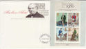 1979-10-24 Rowland Hill Stamps M/S Liverpool FDC (65746)