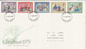 1979-11-21 Christmas Stamps S Devon FDC (65750)
