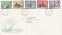 1979-11-21 Christmas Stamps Exeter FDC (65751)