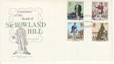 1979-08-22 Rowland Hill Stamps Lancashire on FDC (65757)