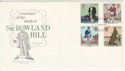 1979-08-22 Rowland Hill Stamps Lancashire on FDC (65758)