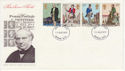 1979-08-22 Rowland Hill Stamps Swindon FDC (65761)
