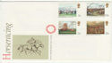 1979-06-06 Horseracing Stamps No Postmark on FDC (65814)