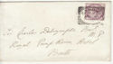 Queen Victoria Stamp Used on Cover Cardiff (65858)