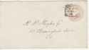 Queen Victoria Postal Stationary London WC Pmk (65860)