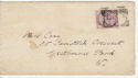 Queen Victoria Stamp Used on Cover London (65861)
